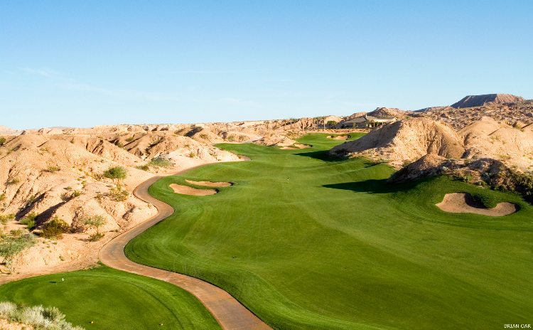 The Canyons Course at Oasis Golf Club in Mesquite